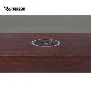 Pool-Billardtisch Rasson Trillium 8ft, walnuss, Tuch Simonis 760 powderblue