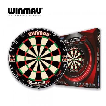 Dartboard Set Winmau Blade 5 Dual Core + Catchring Winmau schwarz