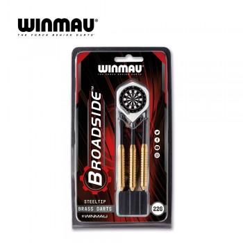 Dartboard Winmau Set, Blade 5 + 2x Set Steeldarts Broadside