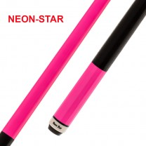Pool-Cue Neon-Star pink
