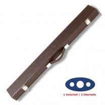 Cue-Koffer Standard 1/2, schwarz