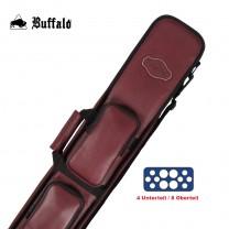 Cue-Tasche Buffalo 4/8 burgund