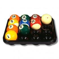 Balltablett 16 Kugeln - Pool