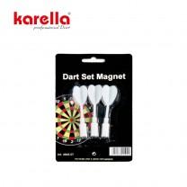 Ersatzpfeile für Dartboard Magnet, 3 Stk. weiss
