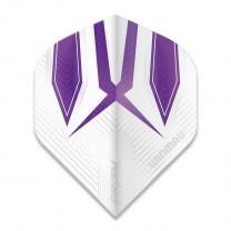 Fly Winmau Alpha Standard, White/Purple 6915-177