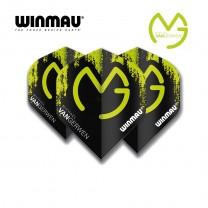 Fly Winmau Player Mega Standard MvG 6900-234 grün/schwarz