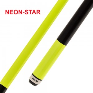 Pool-Cue Neon-Star gelb