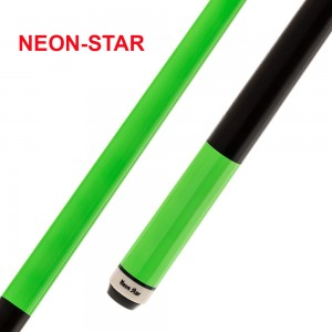Pool-Cue Neon-Star grün