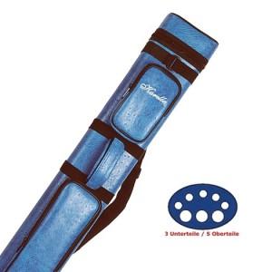 Cue-Köcher Karella 3/5, blau