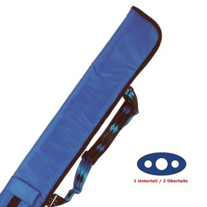 Cue-Tasche Soft 1/2, königsblau