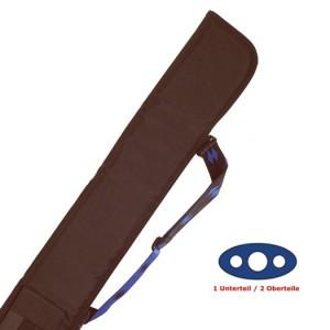 Cue-Tasche Soft 1/2, schwarz