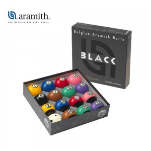 Kugeln Pool 57,2mm Tournament Black Duramith TV