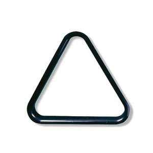 Triangel PVC schwarz 38mm