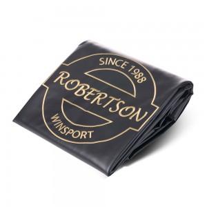 Abdeckplane Robertson 12 ft. Vinyl schwarz, 385 x 208 x 20cm