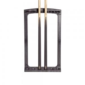 Wandhalter PVC 6 Cues, schwarz