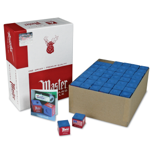 Kreide Master, blau 144er Pack