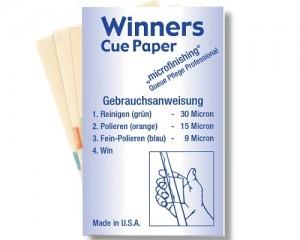 Winners Cue Paper Schleifpapier