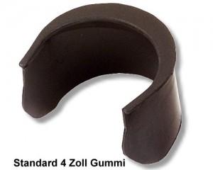 Einfallecke Gummi 4' Standard