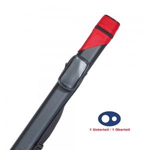 Köcher Billiard Oval 1/1 schwarz/rot