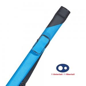 Köcher Billiard Oval 1/1 blau/schwarz