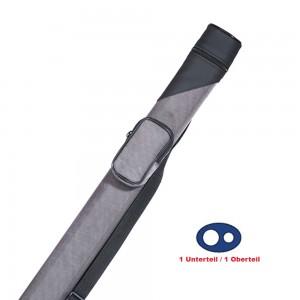 Köcher Billiard Oval 1/1 grau/schwarz