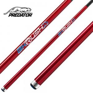 Break Cue Predator BK-Rush red ohne Griffbandund Revo BK-R Carbon Oberteil