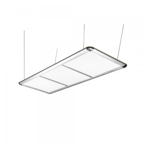 Billardlampe LED, silber