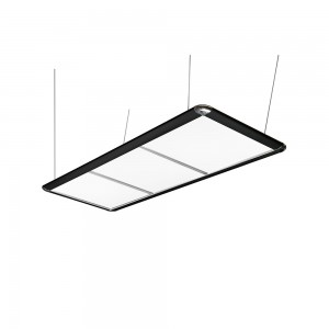 Billardlampe LED, schwarz
