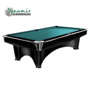 Pool-Billardtisch Dynamic III 8ft. glänzend-schwarz