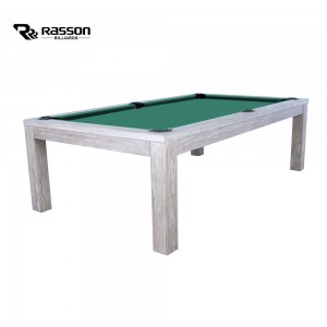 Pool-Billardtisch Rasson Penelope II 8ft, Silver Mist Oak