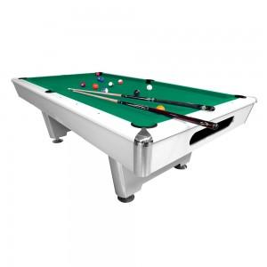 Pool-Billardtisch Thun 7-8 ft. weiss