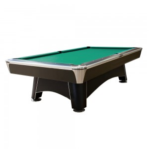 Pool-Billardtisch Hurricaine 9ft. schwarz-matt
