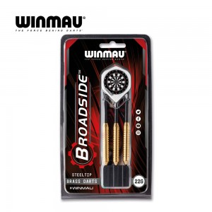 Steeldart Winmau Broadside brass 1225-22g
