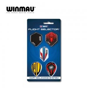 """Fly Display 5 Set Winmau """"Flight selector"""" 8116"""