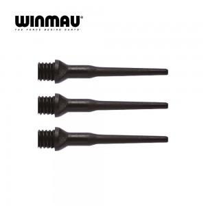 Softspitzen Winmau  2BA schwarz 8600