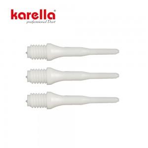 "Softspitzen Karella ""KS"" 50 Stk. weiss 2BA"