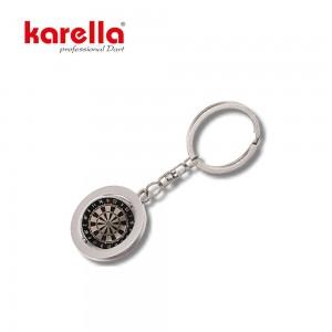 Schlüsselanhänger Dartboard metall