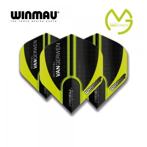 Fly Winmau Prism Alpha MvG Extra Thick 6915-144 grün/schwarz