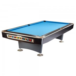 Pool-Billardtisch Olio 9ft. black