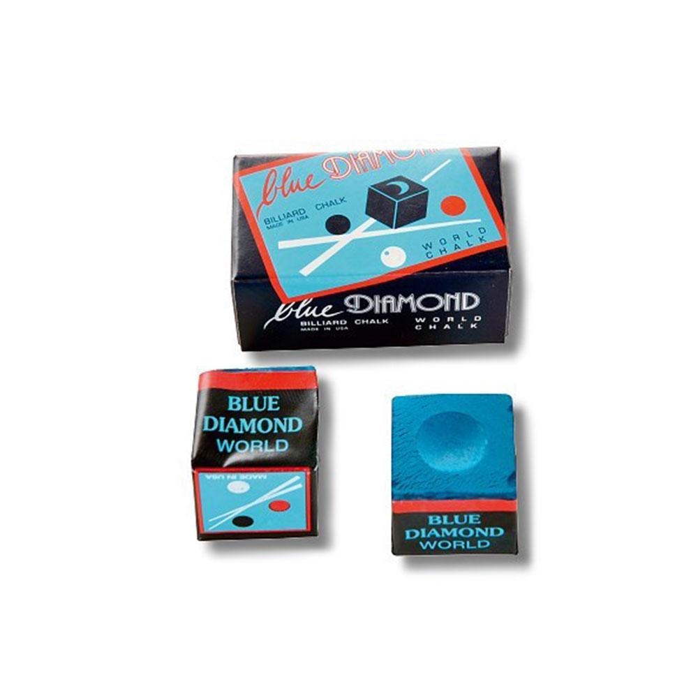 Blue Diamond Billard Kreide blau 2er Box