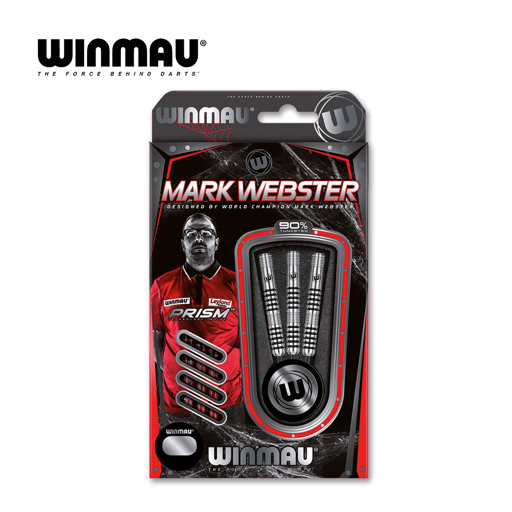 Softdart Winmau Mark Webster 2016-18g