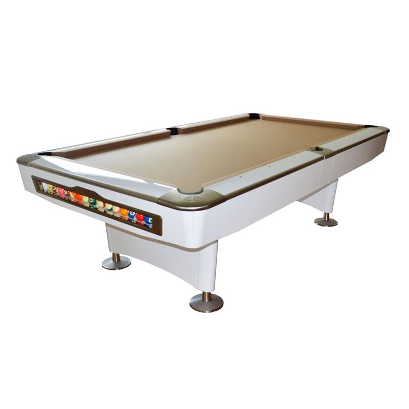 Pool-Billardtisch Olio 8ft. White-Limited, Gebraucht