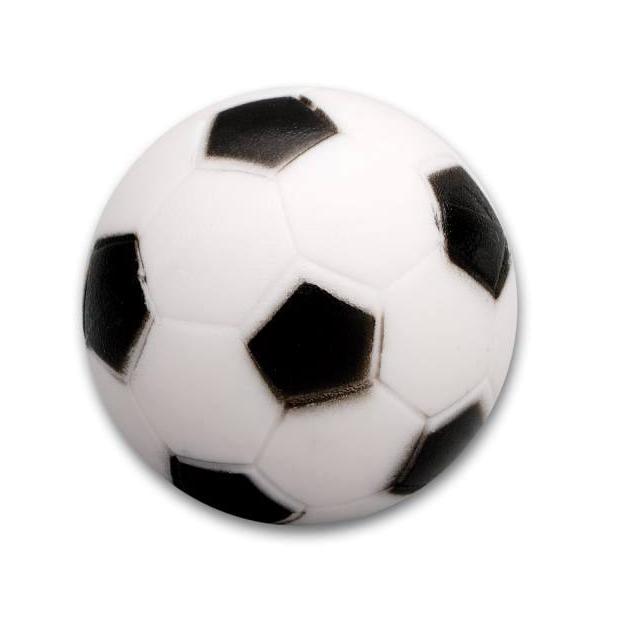Kickerball Hart, schwarz/weiss