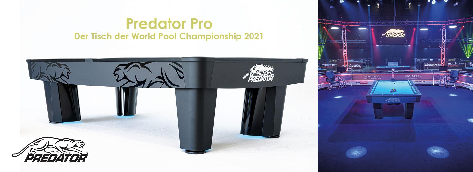 Predator Billardtisch